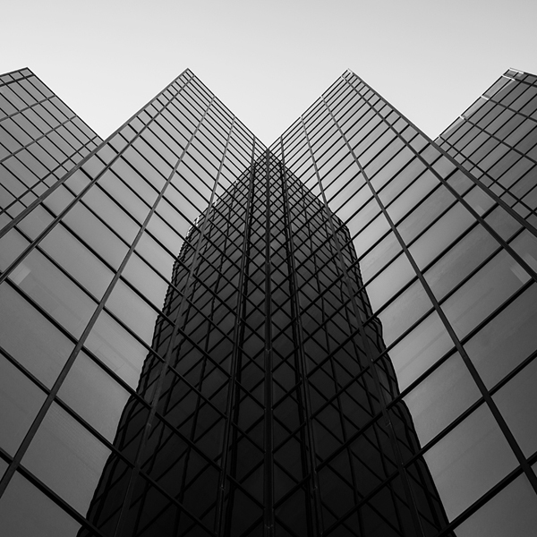 Central Park Square, Phoenix Arizona, Abstract Architecture by Johnny Kerr