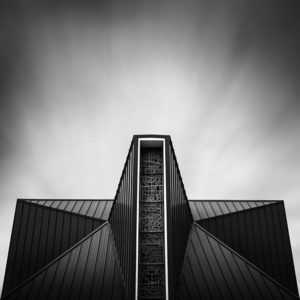Lakeview United Methodist Church Abstract by Johnny Kerr