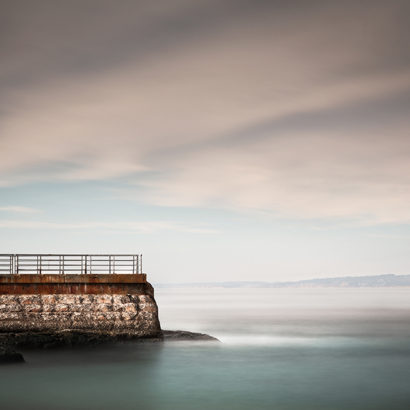 La Jolla Walkway long exposure seascape