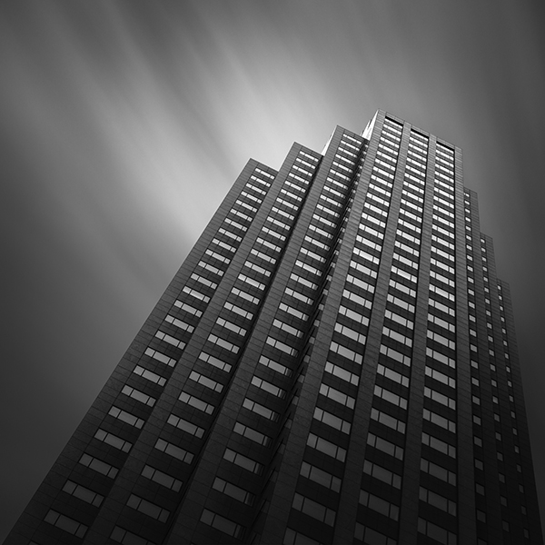 200 Public Square Cleveland Abstract Architecture by Johnny Kerr