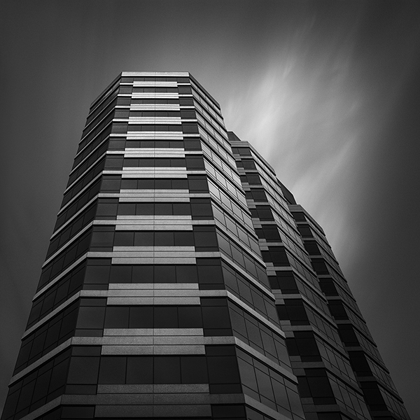 2800 N Central Avenue Abstract Architecture by Johnny Kerr