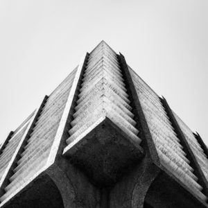 ASU Central Plant Abstract Architecture by Johnny Kerr