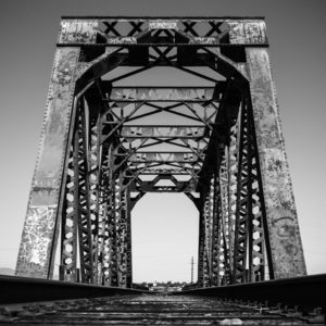 Railroad Bridge, Arizona by Johnny Kerr