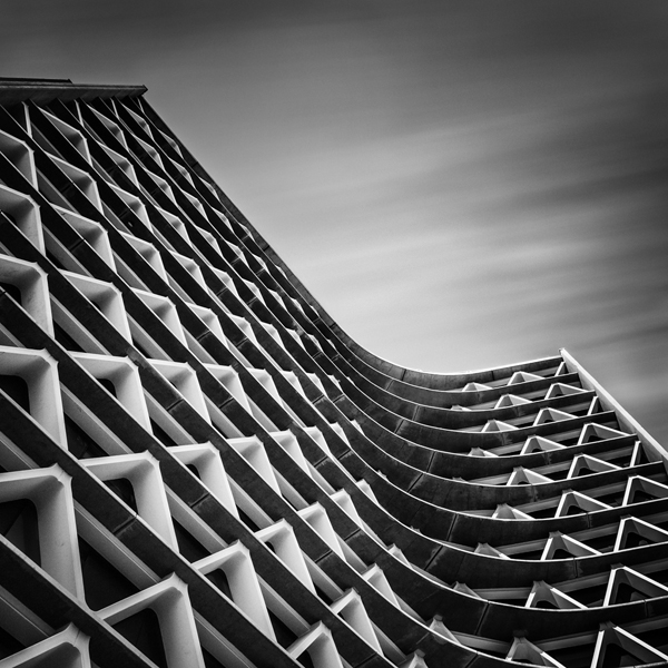 ASU Manzanita Hall Abstract Architecture by Johnny Kerr