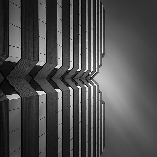 Security Title Plaza Abstract Architecture by Johnny Kerr
