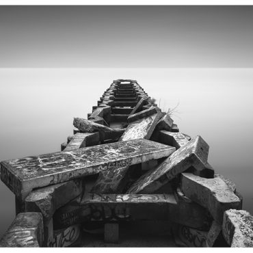 Pier Decay Lake Erie Long Exposure Photography by Johnny Kerr