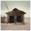 abandoned beach hut ruins at the Salton Sea by Johnny Kerr