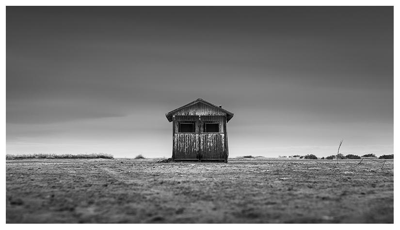 abandoned shack decay ruins salton sea by Johnny Kerr