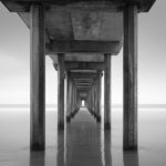 Black and white landscapes, seascapes, and scenes