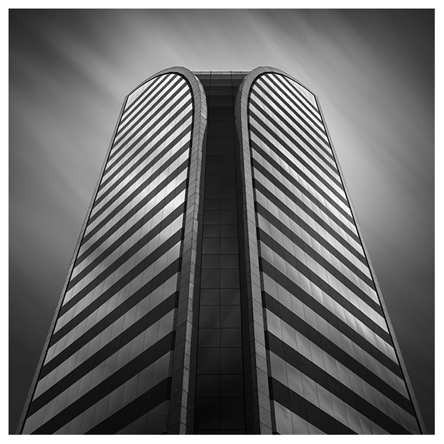 phoenix arizona viad dial bmo tower abstract architecture long exposure
