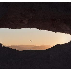 Arizona Papago Park Hole-in-the-Rock landscape sunset