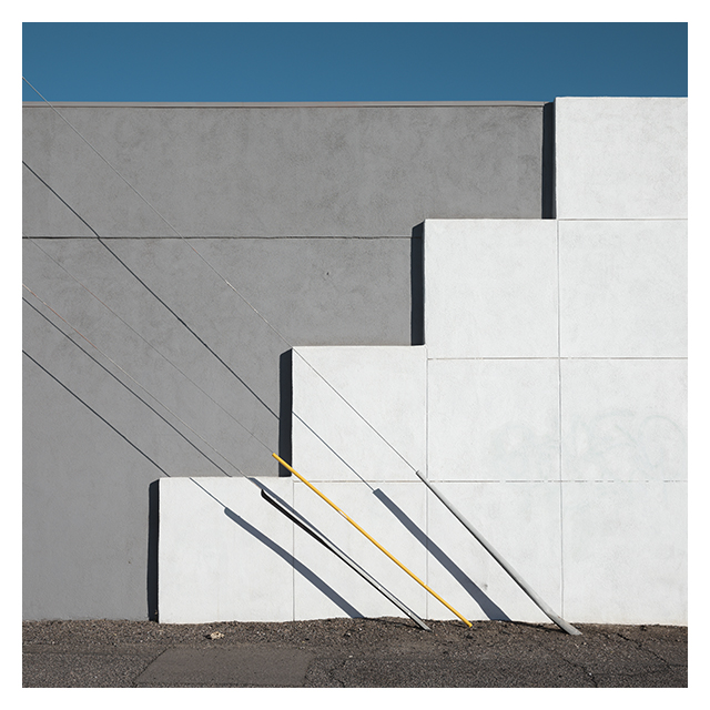 southwest stucco minimal color photography by Johnny Kerr