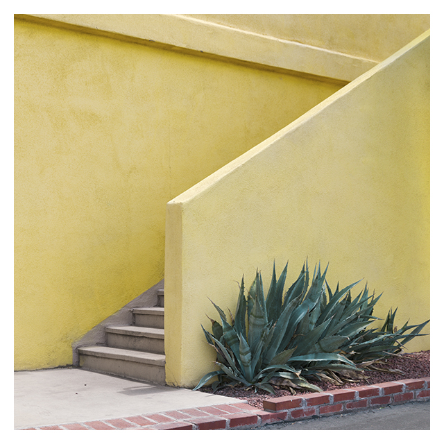 southwest stuccoland minimal color photography by Johnny Kerr