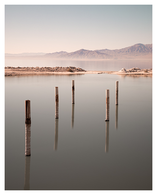 Kerr Monuments Series Salton Sea North Shore Beach Long Exposure
