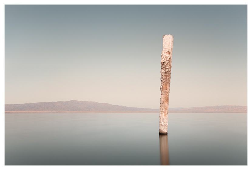 Kerr Monuments Series Salton Sea Beach Desert Shores Long Exposure