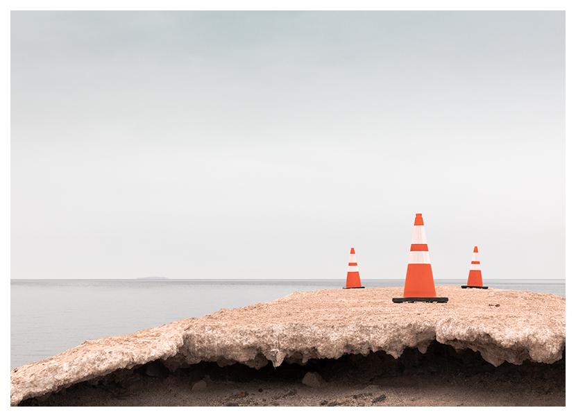 Kerr Monuments Series Salton Sea Traffic Cones